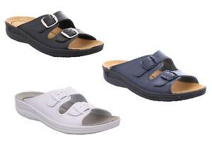 Romika Village 305N G Damen Sandalen Hausschuhe Schlappen Pantoffel Pantolette
