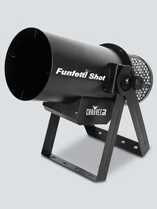 Chauvet DJ Funfetti-Shot Confetti Cannon Launcher Included Wireless Remote
