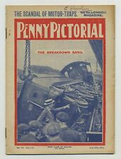 The Penny Pictorial Magazine July 1914 The Breakdown Gang Derailed Train C2