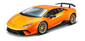 Bburago 1:24 Lamborghini HURACAN PERFORMANTE Racing Car Vehicle Diecast Model