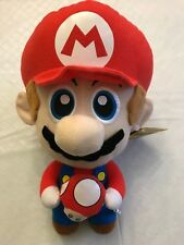"Super Mario Plush with Red Mushroom 11"" with Tag"