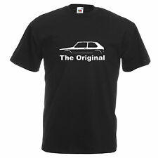 VW Volkswagen T Shirt GOLF RABBIT auto GTI mk1 MARK 1 PAPA 'REGALO NUOVO DUB TEE T-shirt
