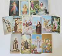 Fratelli Bonella Prayer Cards, Lot Of 14 Vintage Catholic Holy Cards, Saints