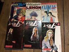 Set Of 6 Books de Poche Manga IN Japanese