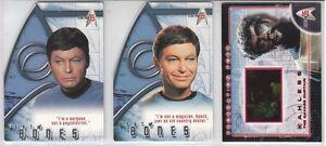 Star Trek 35th Anniversary: Best Of Bones / Federation Foes Single Chase Cards