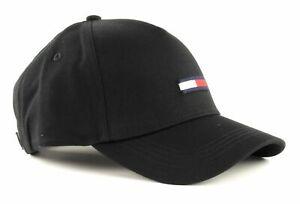 TOMMY HILFIGER TJU Flag Cap M Cap Accessoire Black Schwarz Neu