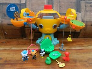 Octonauts Octopod Playset with Figures and Gup E