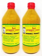 (2 X 480ml) Windmill Products Hot Pepper Sauce