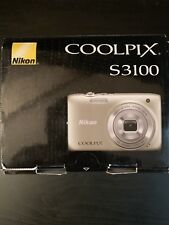 Nikon COOLPIX S3100 14.0MP Digital Camera -  With 2, 2 GB SD Cards