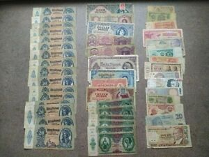 Hungary & World Banknote Collection Set 46 pcs Lot
