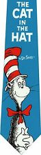 DR. SEUSS CAT IN THE HAT  NEW NOVELTY TIE