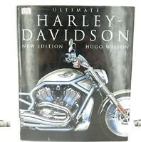 ".""ULTIMATE HARLEY DAVIDSON"" MOTORCYCLE LARGE HARDCOVER BOOK."