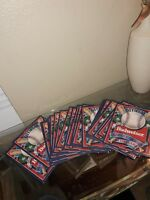 LOT OF 29 BUDWEISER WORLD SERIES OFFICIAL SCORECARDS MLB - 1988 GOOD CONDITION