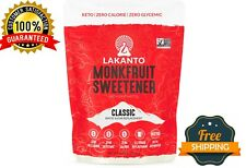 Lakanto Monkfruit Sweetener, Natural Sugar Substitute Classic White 1lb
