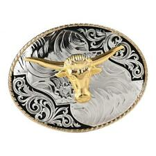 Totem Bull Ox Head Belt Buckle Western Cowboy Rodeo Belt Buckle Mens Indian
