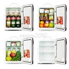 220V/12V Car Portable 10L Mini Fridge Freezer Cooler Refrigerator Home Office
