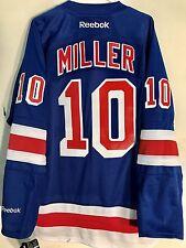 Reebok Premier NHL Jersey New York Rangers Miller J.T. Blue sz 2X
