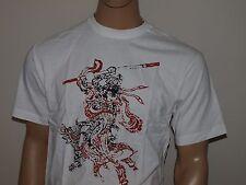 LUCKY BRAND Samurai T Shirt White NWT NWOT