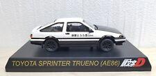 1/64 Kyosho Initial D PROJECT D TOYOTA SPRINTER TRUENO AE86 diecast car model