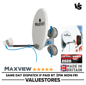 Maxview Remora Pro Suction Mounted Portable sky Satellite TV Caravan Dish Single