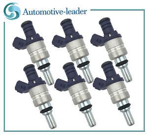 6Pcs Fuel Injectors For BMW 330i 330xi 530i 2001-2005 330Ci X5 2001-2006 3.0L