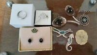 Sterling Silver Jewelry Lot. Vintage To Modern