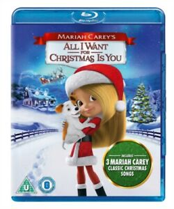 Mariah Carey's All I Want for Christmas Is You BLU-RAY NEW & SEALED*