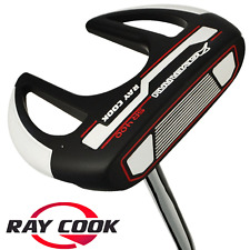 """NEW 2018"" RAY COOK SILVER RAY SR400 34"" PUTTER +HEADCOVER & MIDSIZE GRIP"
