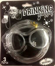 Novelty Flexible Soft Silly Drinking Straw Glasses Party Kids Funny - US Seller