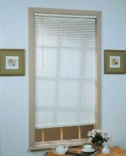 "Deluxe Sundown 1"" Room Darkening Mini Blind 35x64 - Alabaster"