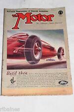The Motor Magazine WW2 Issue 1943 January 13th: Restoring Bentleys/Detroit Men