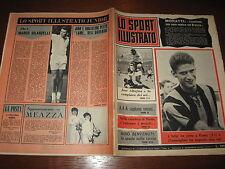 LO SPORT ILLUSTRATO GAZZETTA 1965/9 DOMENGHINI INTER BENVENUTI POSTER TORINO