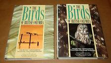 2 Books BIRDS OF BRITISH COLUMBIA Vol.1&2 NONPASSERINES Ornithology Zoology Bird