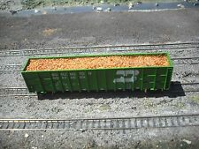 N Scale  Sawdust load for a 62' Wood Chip Car Delux Inovations
