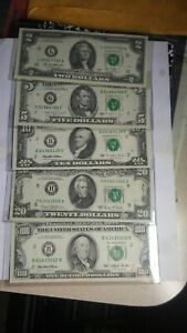 1993 $100 One Hundred Dollar Bill plus type set Old Currency nice circulated