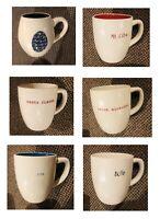 Rae Dunn Coffee / Tea Mugs (See Selections) New