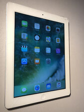 Genuine iPad 4th Gen 64GB White Smashed Screen