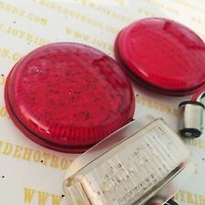 Replacement LED Units for 1937 Ford Tail Lights - 1 PAIR. (R/H+L/H)