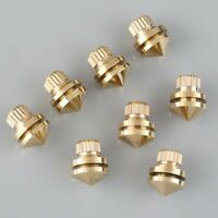 US 8pcs HIFI M8 Copper Speaker Foot Base Pad Suspension Spikes Isolation Stands