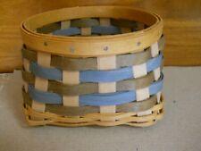 "New Longaberger Fieldstone Trifles Basket 2016 4 1/2"" L x 4 1/2"" W x 3 1/4"" H"