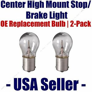 Center High Mount Stop/Brake Bulb 2-pack fits Listed Land Rover Vehicles 7506