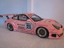 1/18 AutoArt Porsche 911 996 GT2 RSR 2006 PINK PIG Opening Diecast Very RARE