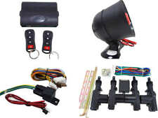 High Quality Car Alarm Remote Siren & Full Set Central Locking Kit 4 Doors 1