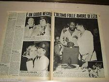 LIZA MINNELLI clipping articolo foto photo 1974 OGGI GIUDA NEGRO AMORE