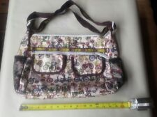 Le SportSac Artist in Residence Bicycles Crossbody Shoulder bag