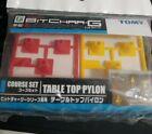 TOMICA TOMY Bit Char-G COURSE SET TABLE TOP PYLON CONES GC-02 NEW