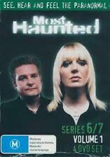 Most Haunted : Series 6-7 : Vol 1 (DVD, 2007, 4-Disc Set) New Sealed Region 4