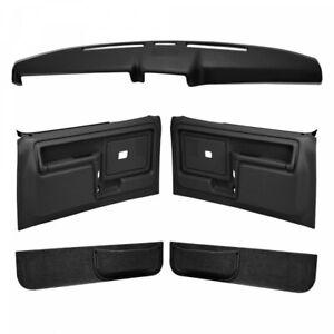 Coverlay 12-108CF Black For Ford Bronco Front Left Right Interior Kit