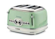 Tostapane Toaster 4 fette Ariete 156 tosta pane Vintage Verde 1600 W - Rotex