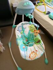 Bright Stars baby swing green automatic swing